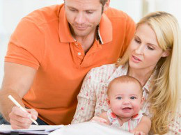 A working family finding work-life balance