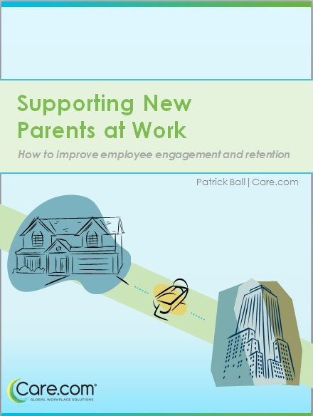 Learn how to support new parents at work to improve employee engagement and retention