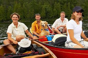 boating at the company picnic