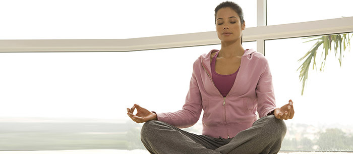 Take a break. Do some yoga. Limit burnout and improve stress management.