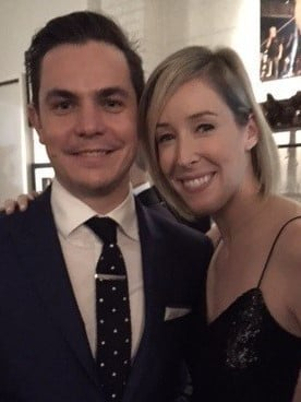 Ben Robinson and his wife, Michelle