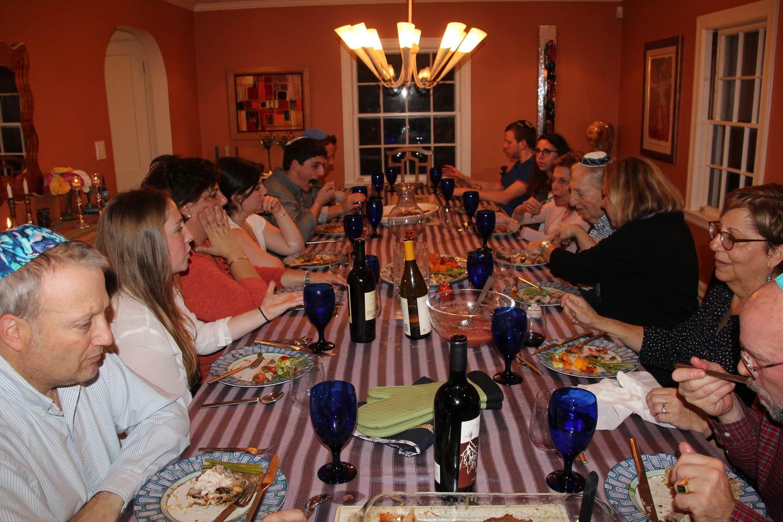 Lynne Satlof-Karas - Family gathering