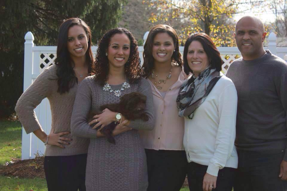 McKayla Andrade and her family