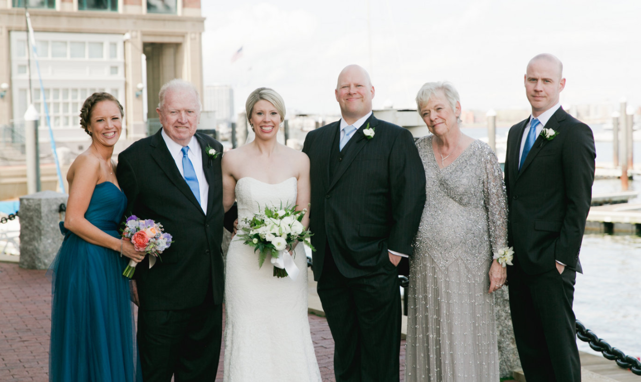 Anne & Tom Hickey and their family